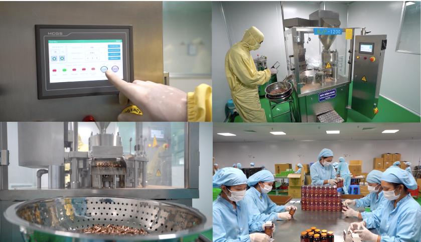 Mr Sun được sản xuất dựa trên quy trình hiện đại, đảm bảo chất lượng sản phẩm