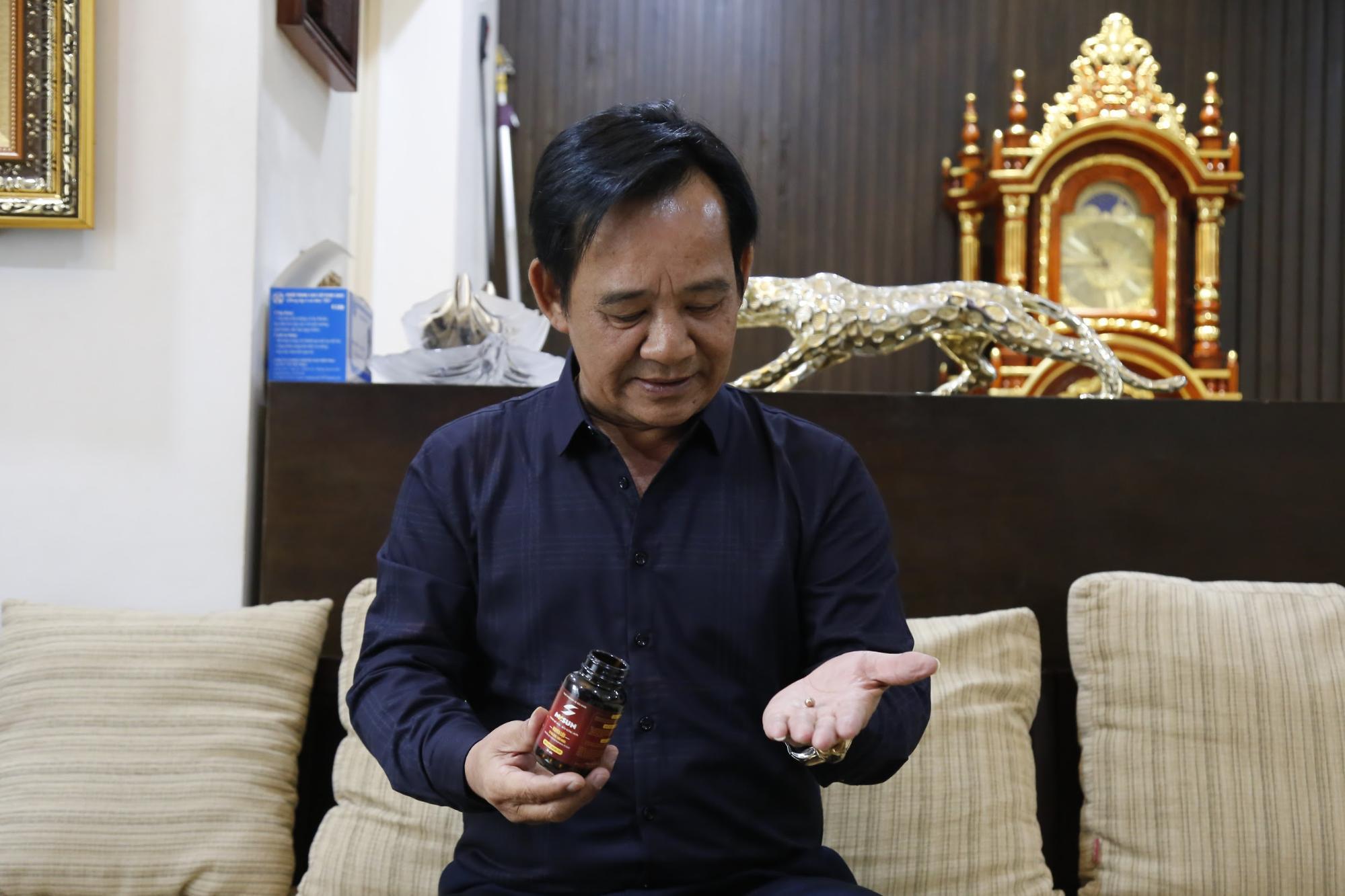 Nghệ sĩ Quang Tèo chia sẻ bí quyết dùng Mr Sun để giữ vững phong độ đàn ông ở tuổi U60
