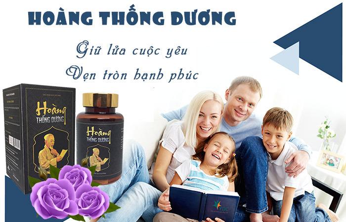 Hoàng Thống Dương giúp nam giới tìm lại hạnh phúc gia đình