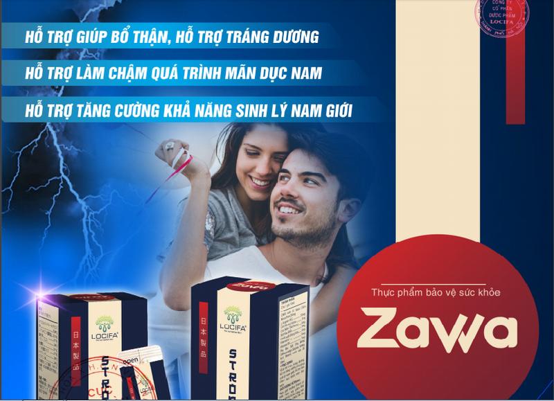 Zawa cải thiện chức năng sinh lý cho nam giới nhanh chóng, hiệu quả