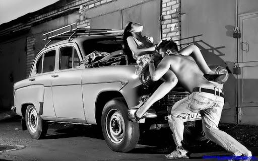 Trên đầu xe là vị trí rất thích hợp để oral sex